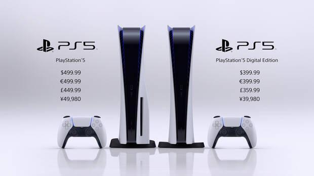 PS5 precios oficiales