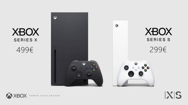Xbox Series precios oficiales