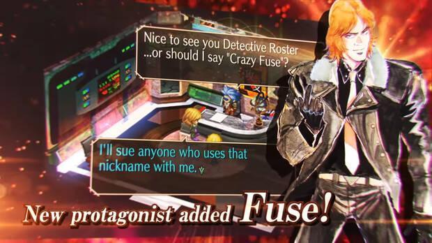 saga frontier remastered fuse nuevo personaje