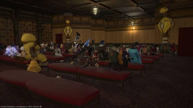 Un grupo de fans organiza una obra de teatro en Final Fantasy XIV Imagen 2