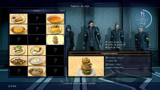 Final Fantasy XV Longwythe especial