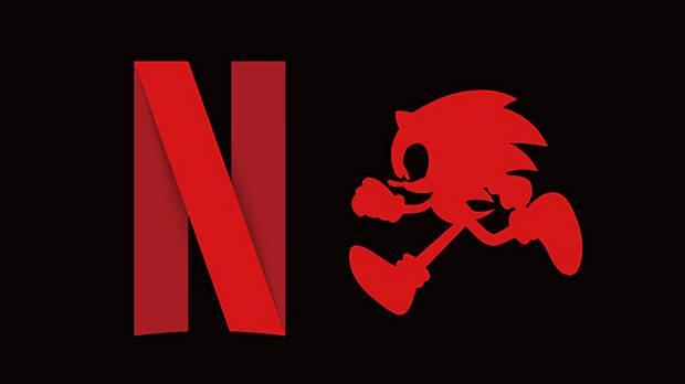 Logo de la nueva serie de Sonic para Netflix