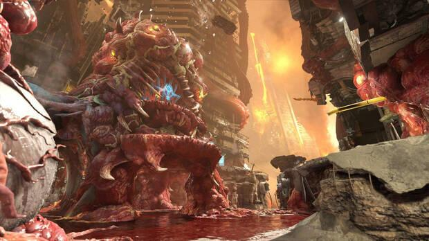 Imagen de Super Gore Nest Master Level, el nuevo modo de DOOM Eternal.