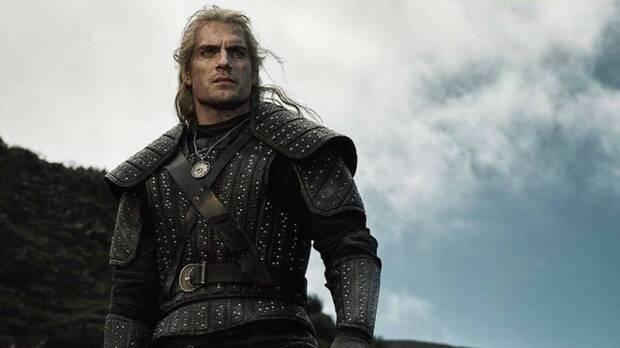 Geralt de Rivia en la serie de The Witcher de Netflix.