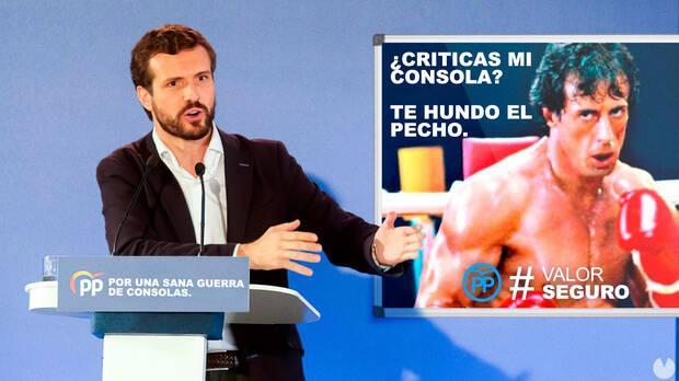 Inocentada Vandal Pablo Casado PP
