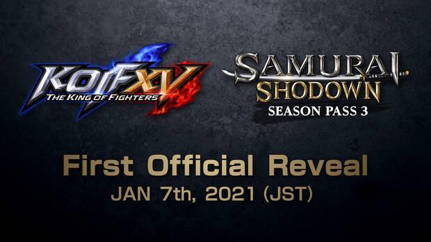 Nouveau pour The King of Fighters XV et Samurai Shodown le 7 janvier.