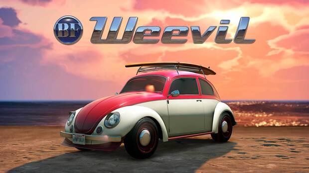 BF Weevil es el nuevo coche de GTA Online