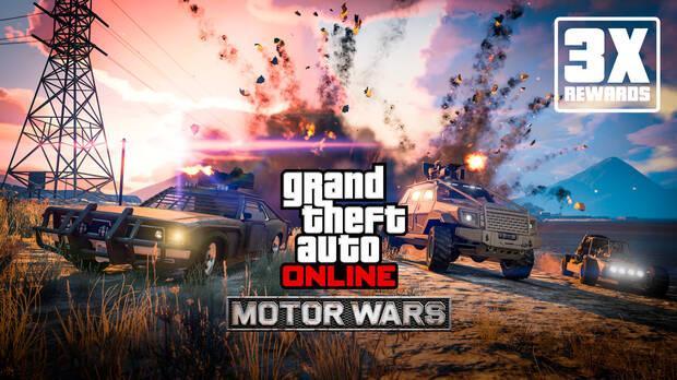Recompensas de Motor Wars en GTA Online