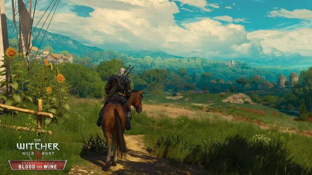 The Witcher 3 actualizaci