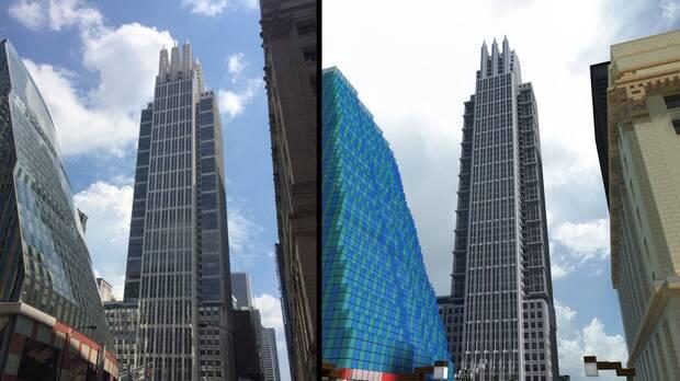 Recrean la ciudad de Chicago en Minecraft Imagen 2