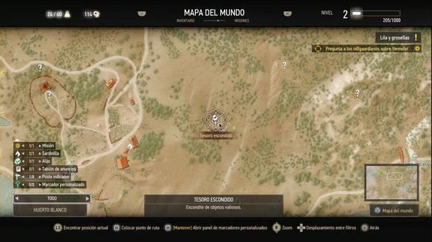 The Witcher 3: Wild Hunt, Búsquedas de tesoros, Dinero Sucio, Huerto Blanco