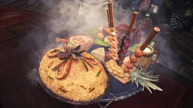Así sería la comida de Monster Hunter World en la realidad Imagen 2