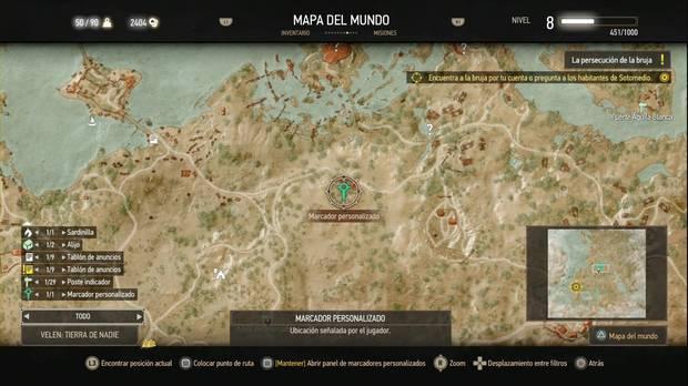 The Witcher 3: Wild Hunt, Misiones secundarias, Velen, Morir en la hoguera