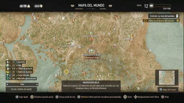 The Witcher 3: Wild Hunt, Contratos de Brujo, La cosa del pantano
