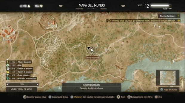 The Witcher 3: Wild Hunt, Búsqueda de tesoros, Mala suerte