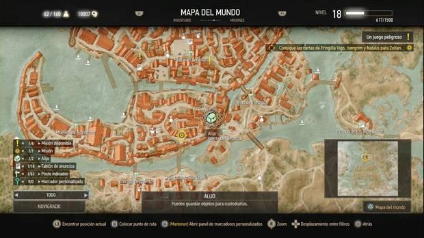 The Witcher 3: Wild Hunt, Misiones secundarias, Novigrado, Un juego peligroso