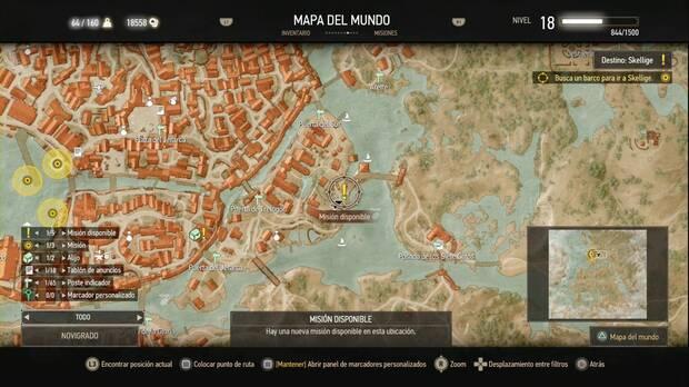 The Witcher 3: Wild Hunt, Misiones secundarias, Novigrado, El dilema del documento enano