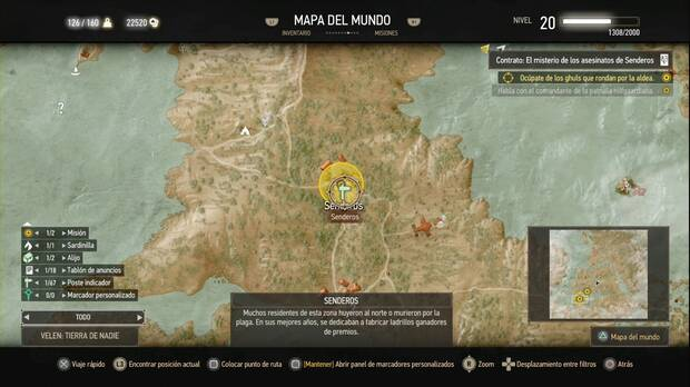 The Witcher 3: Wild Hunt, Contratos de Brujo, El misterio de los asesinatos de Senderos