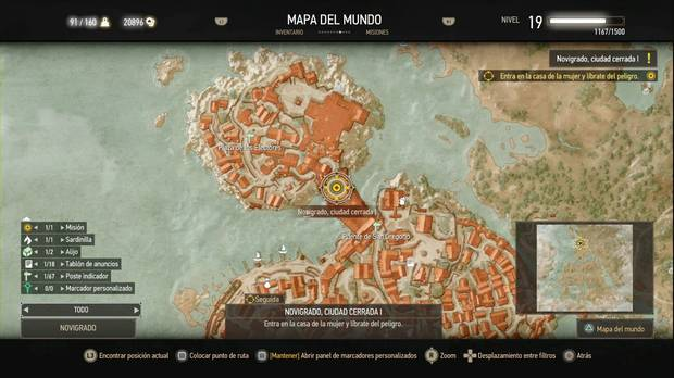 The Witcher 3: Wild Hunt, Misiones secundarias, Novigrado, Novigrado Ciudad Cerrada