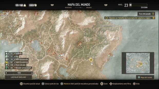 The Witcher 3: Wild Hunt, Misiones secundarias, Skellige, El aserradero abandonado