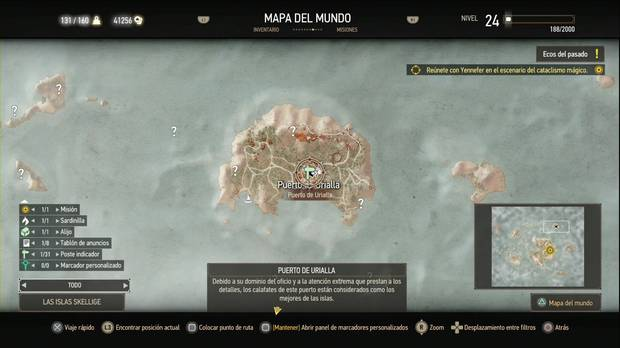The Witcher 3: Wild Hunt, Misiones secundarias, Skellige, La torre surgida de la nada