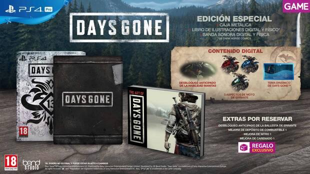 GAME detalla sus incentivos por la reserva de Days Gone Imagen 3