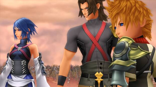 Kingdom Hearts Birth by Sleep: Terra, Aqua y Ventus