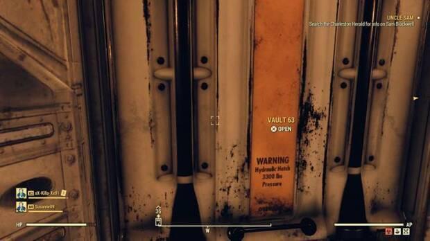 Fallout 76: Un jugador accedió por error al Refugio 63 Imagen 3