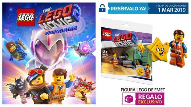 GAME detalla la reserva de La LEGO Película 2: El Videojuego Imagen 2