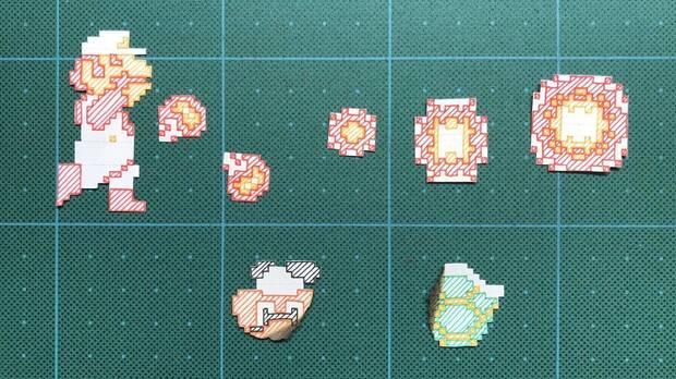 Recrean un nivel de Super Mario en una impresionante manualidad Imagen 2