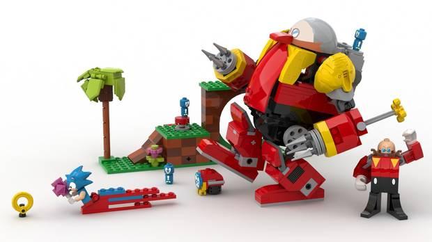 Esta genial figura LEGO de Sonic the Hedgehog podría llegar al mercado Imagen 2