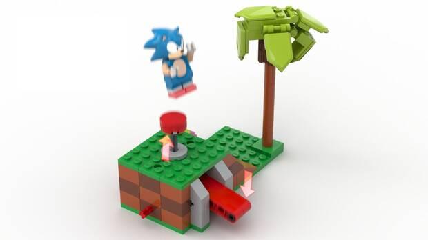 Esta genial figura LEGO de Sonic the Hedgehog podría llegar al mercado Imagen 3