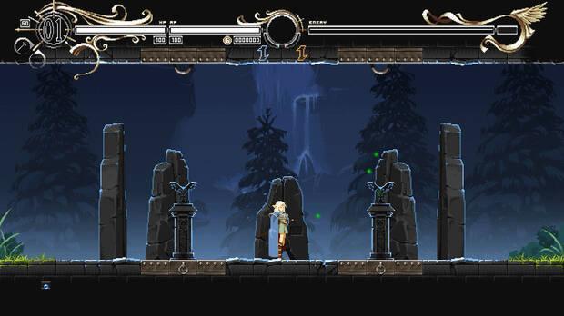 Captura de la jugabilidad de Record of Lodoss War: Deedlit in Wonder Labyrinth.