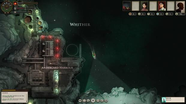 Sunless Sea screenshot on PC.