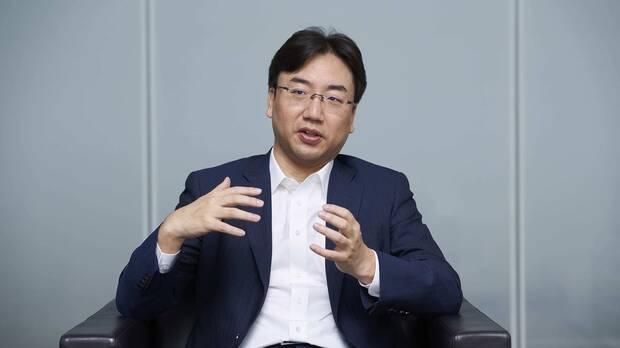 Furukawa, president of Nintendo.