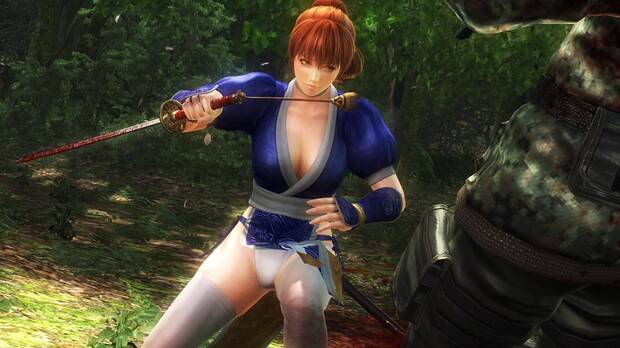 One of the female characters from Ninja Gaiden.