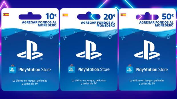 Tarjetas regalo PS Store