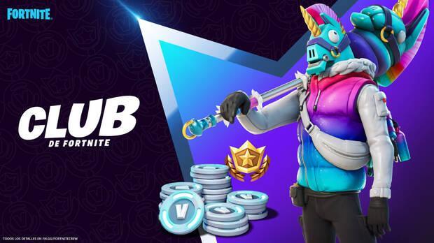 Llama-Bro, la nueva skin del Club Fortnite en marzo de 2021 - Contenidos