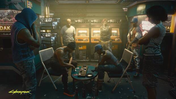 Captura de Cyberpunk 2077.