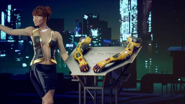 Imagen de Cyberpunk 2077.