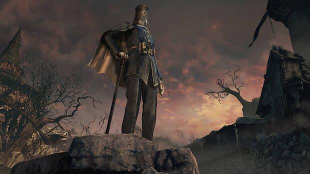 Captura de Bloodborne.