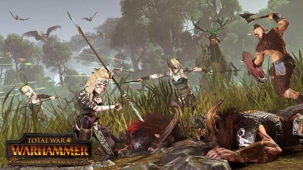 Ya disponible el contenido basado en los Elfos Silvanos para Total War: Warhammer Imagen 2
