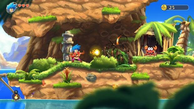 Monster Boy and the Cursed Kingdom Imagen 1