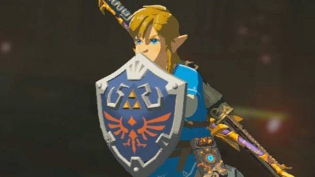 Escudo Hyliano en Zelda: Breath of the Wild