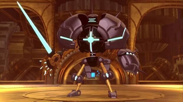 Ni No Kuni 2: El renacer de un reino, Capítulo 6, Jefe Robotector 2.0