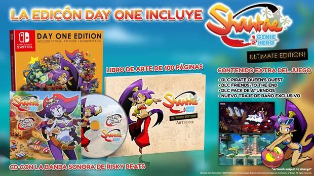 Shantae Half-Genie Hero Ultimate Edition llegará a Switch y PS4 el 27 de abril Imagen 2