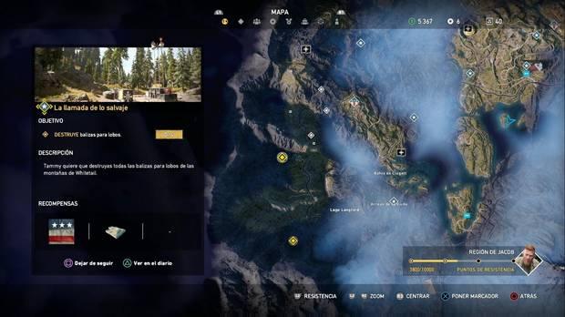 Far Cry 5, Balizas para lobos, Región de Jacob