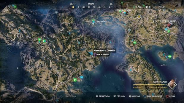 Far Cry 5, Merendero Oberling, George, Misiones secundarias, Cromos
