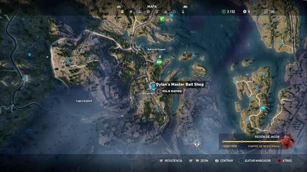Far Cry 5, Misiones secundarias, Skylar, región de Jacob