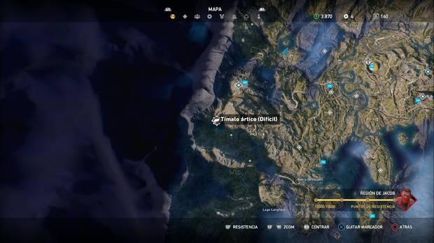 Far Cry 5, Animales, Timalo ártico (Difícil)